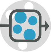 abstract icon of routing rules