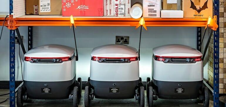 last-mile parcel delivery robots