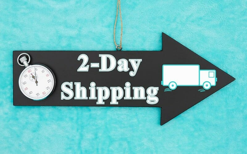 Why digitally native brands should offer 2-day shipping