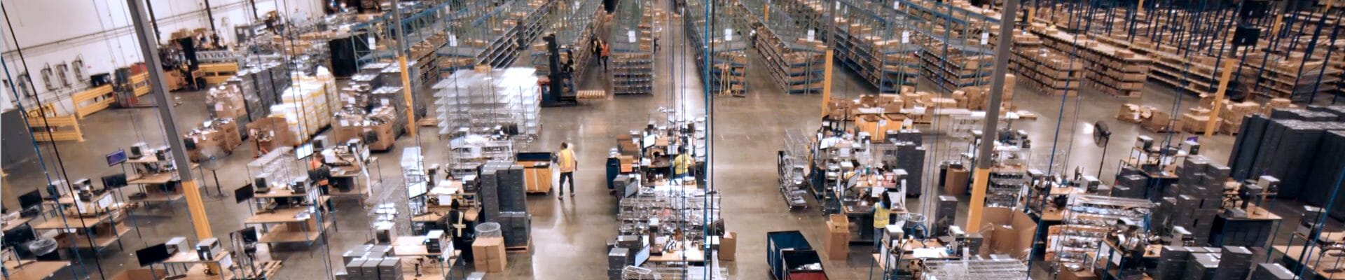 overview of order fulfillment in a warehouse