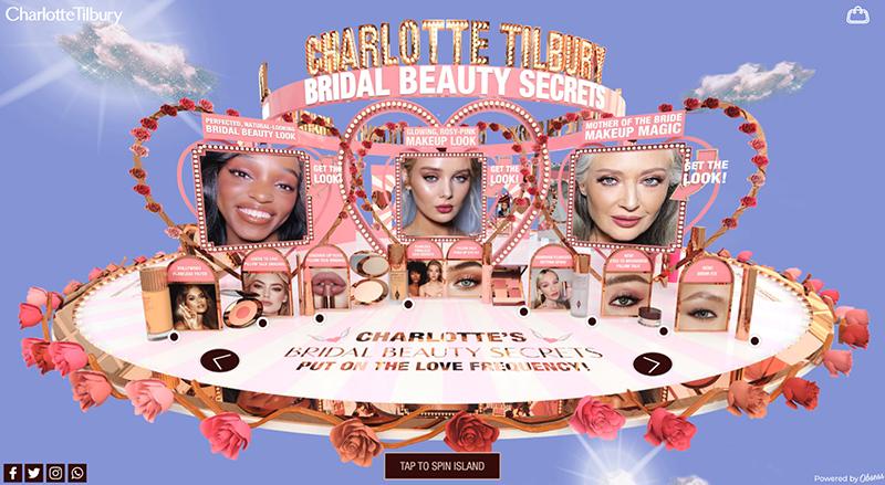 charlotte tilbury virtual storefront