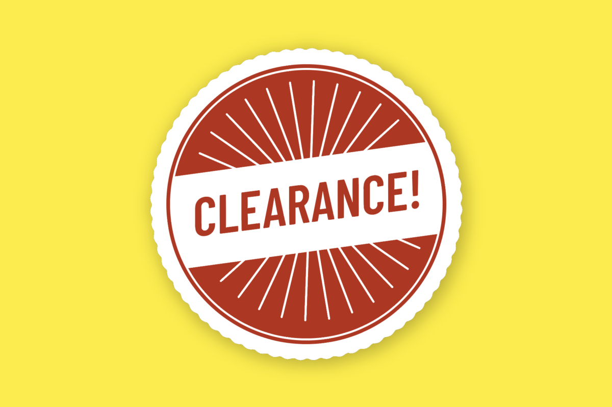 clearance badge