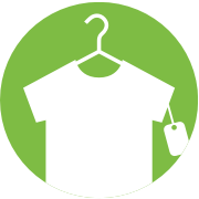 t-shirt hanger icon