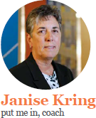 janise kring - put me in, coach