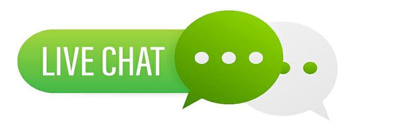 live chat bubble icon