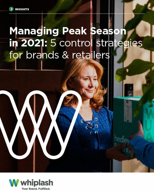 cover of managing peak season ebook