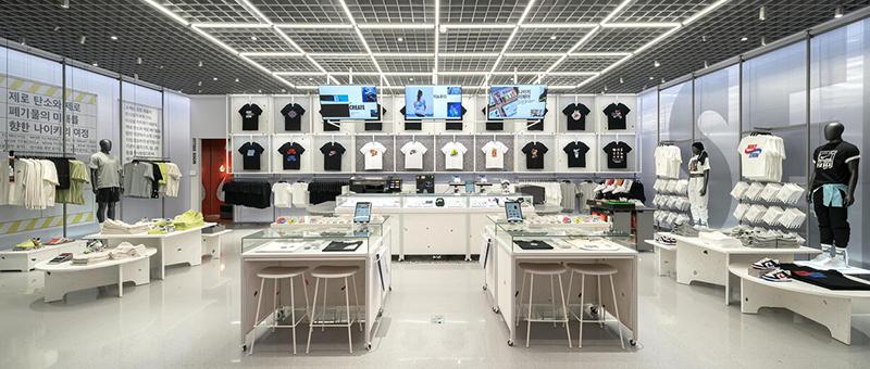 nike live store interior