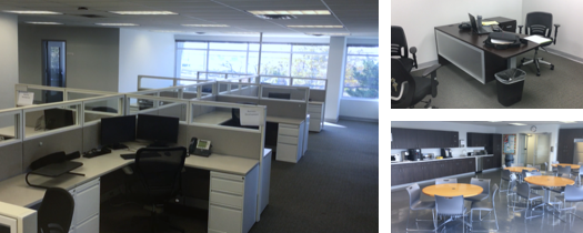 Interior of PLG's new East coast headquarters in New Jersey