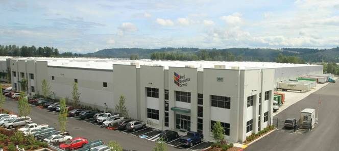 Exterior view of PLG's new Seattle facility in Sumner, WA