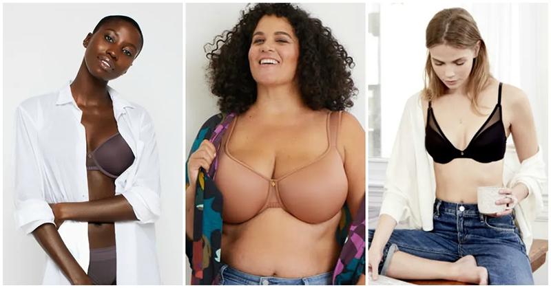 images of women wearing thirdlove lingerie