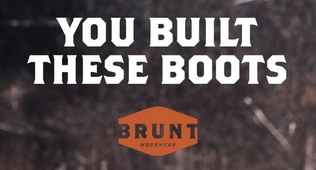 you built these boots